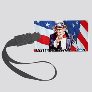 UNCLE SAM DONE IN ONE YS Large Luggage Tag
