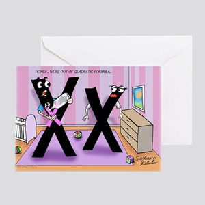 Pi_78 Baby Formula (10x10 Color) Greeting Card