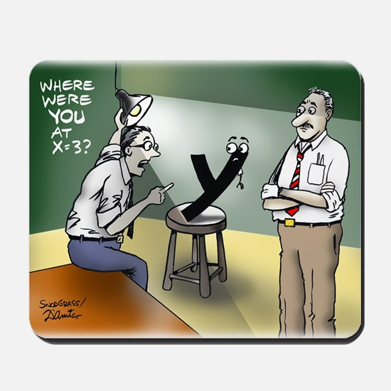 Pi_79 Interrogation (6.5x4.5 Color) Mousepad