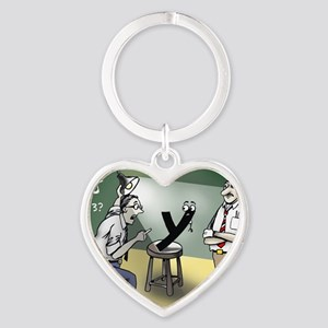Pi_79 Interrogation (20x16 Color) Heart Keychain