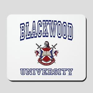 BLACKWOOD University Mousepad