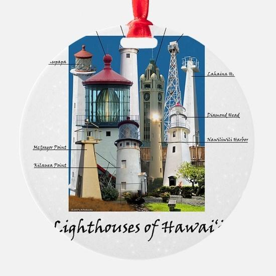 Hawaii note card Ornament