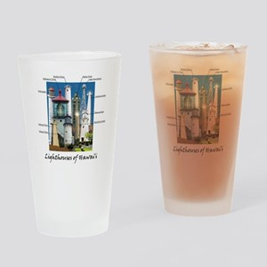 Hawaii note card Drinking Glass