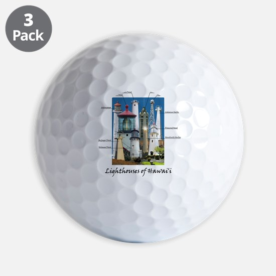 Hawaii note card Golf Ball