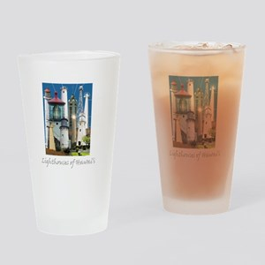 Hawaii Dark 10x10 Drinking Glass