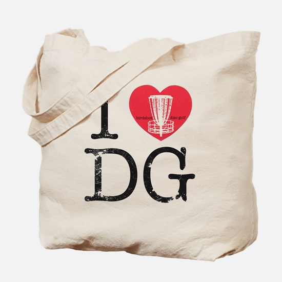 I Heart DG2 Tote Bag