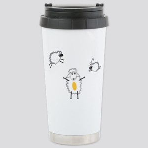 Sheeps Stainless Steel Travel Mug