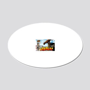Comic_1_Cover 20x12 Oval Wall Decal