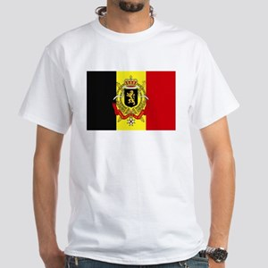 Belgium w/ coat of arms White T-Shirt