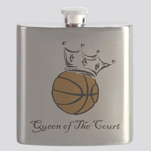 bball queen Flask