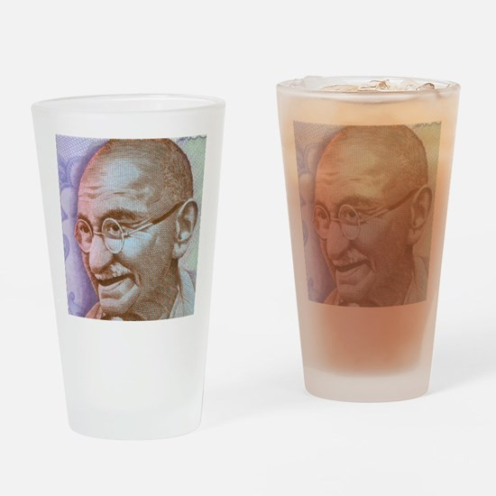 Gandhi Drinking Glass