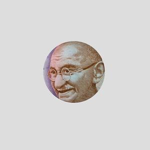 Gandhi Mini Button