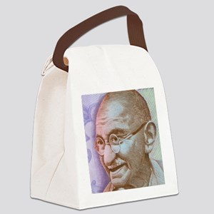 Gandhi Canvas Lunch Bag