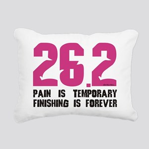 pain Rectangular Canvas Pillow