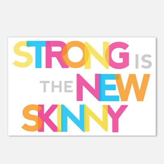 Strong is the New Skinny  Postcards (Package of 8)