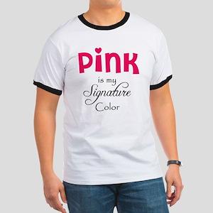 Pink Ringer T