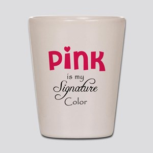 Pink Shot Glass