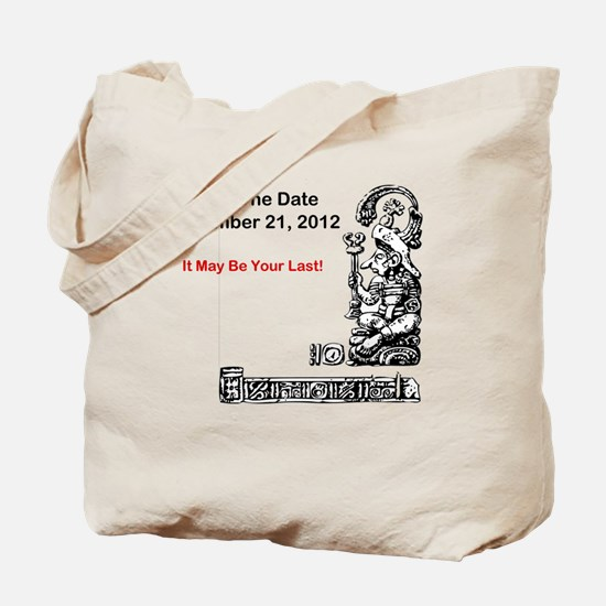 Save The Date 12212012 Tote Bag