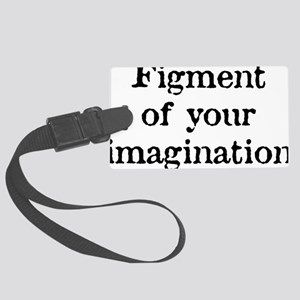 figment_white Large Luggage Tag