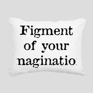 figment_white Rectangular Canvas Pillow