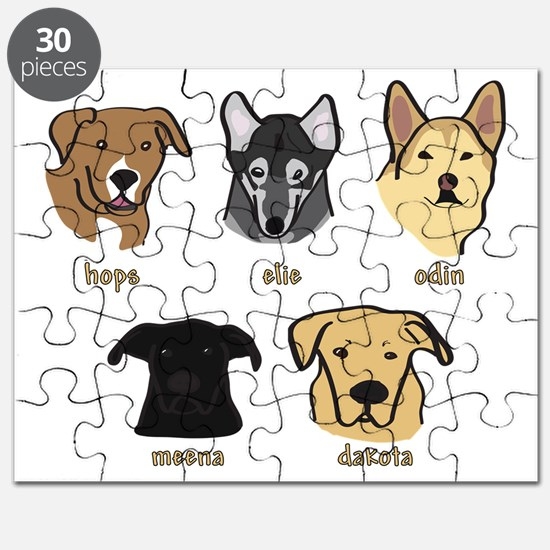 Grand Dogs Too Puzzle