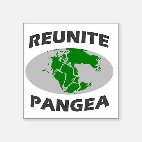 "reunitepangea2 Square Sticker 3"" x 3"""