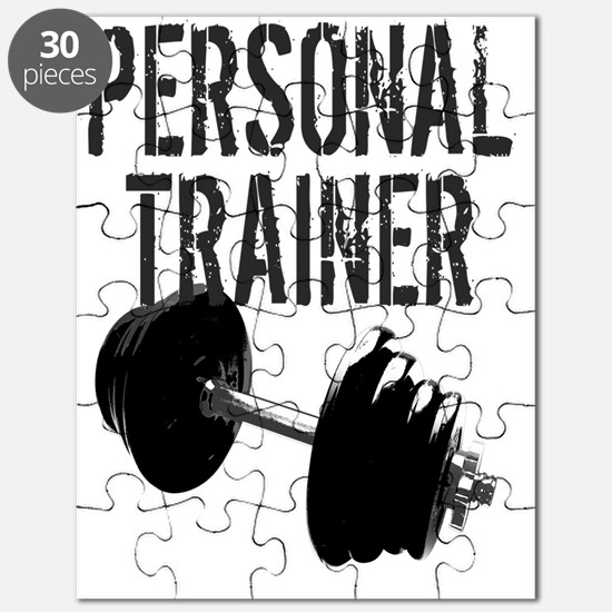 Personal Trainer Weight Training Puzzle