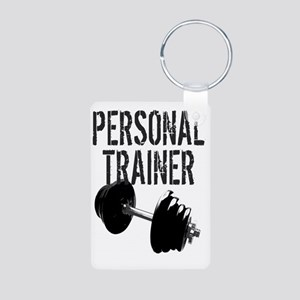 Personal Trainer Weight Tr Aluminum Photo Keychain