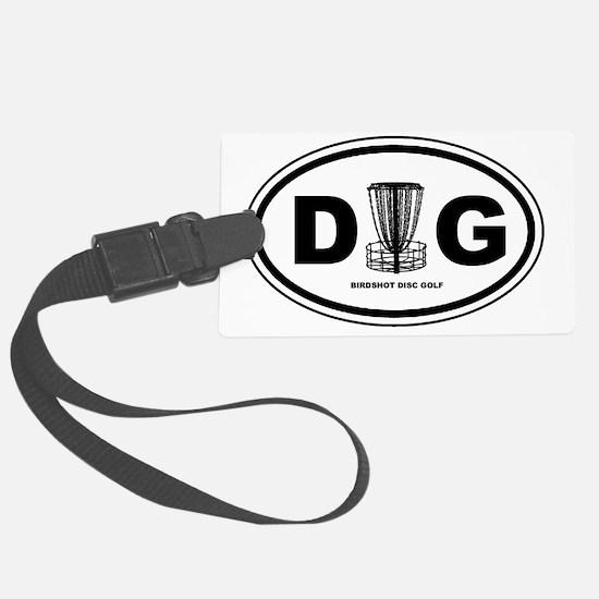 DG Oval Luggage Tag