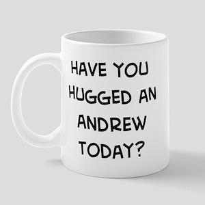 Hugged a Andrew Mug