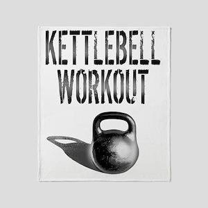Kettlebell_Workout copy Throw Blanket