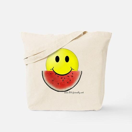 smileywatermelon811friendly big.gif Tote Bag