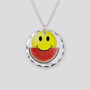 smileywatermelon811friendly  Necklace Circle Charm