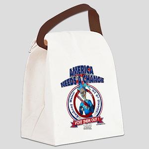 AnthonyWeinerT Canvas Lunch Bag