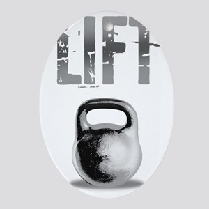 Kettlebell_Routine_dark Oval Ornament