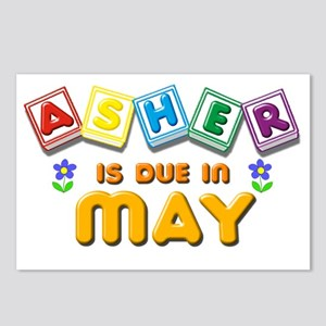Asher in Due in May Postcards (Package of 8)