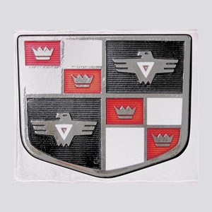 Studebaker Champion Emblem Throw Blanket