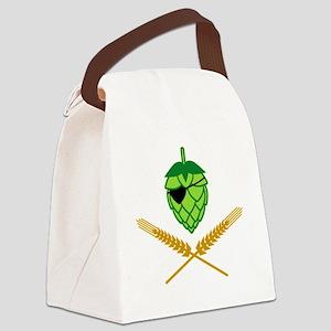 w3-4 Canvas Lunch Bag