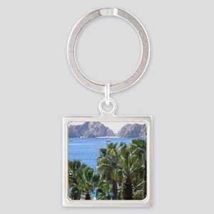 Cabo Square Keychain