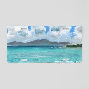 Roadtown Harbor, Tortola #1 Aluminum License Plate