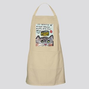 The Cat Speaks 1 Apron