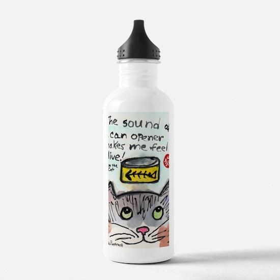 The Cat Speaks 1 Water Bottle