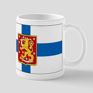 Finland w/ coat of arms Mug