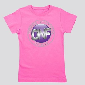 DNF purple globe w-transparent ring Girl's Tee