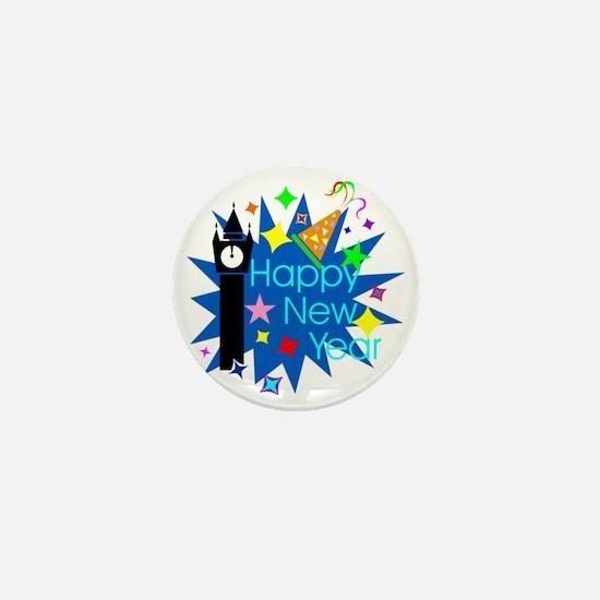 HappyNewYear Mini Button