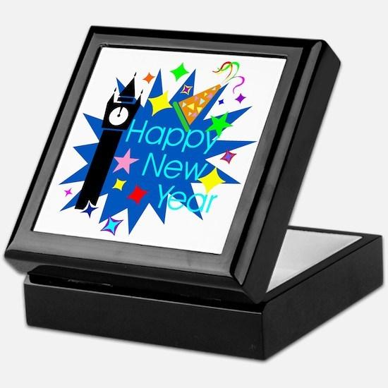 HappyNewYear Keepsake Box