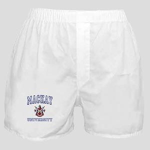MACKAY University Boxer Shorts