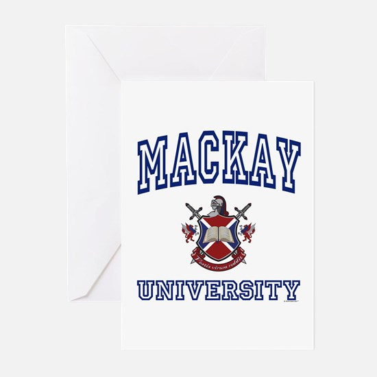 MACKAY University Greeting Cards (Pk of 10)
