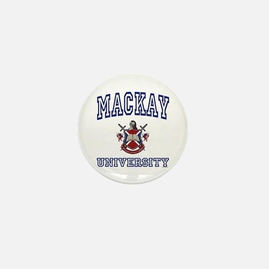 MACKAY University Mini Button