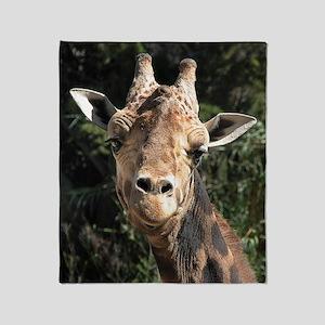 SmilingGiraffe Ipad Throw Blanket